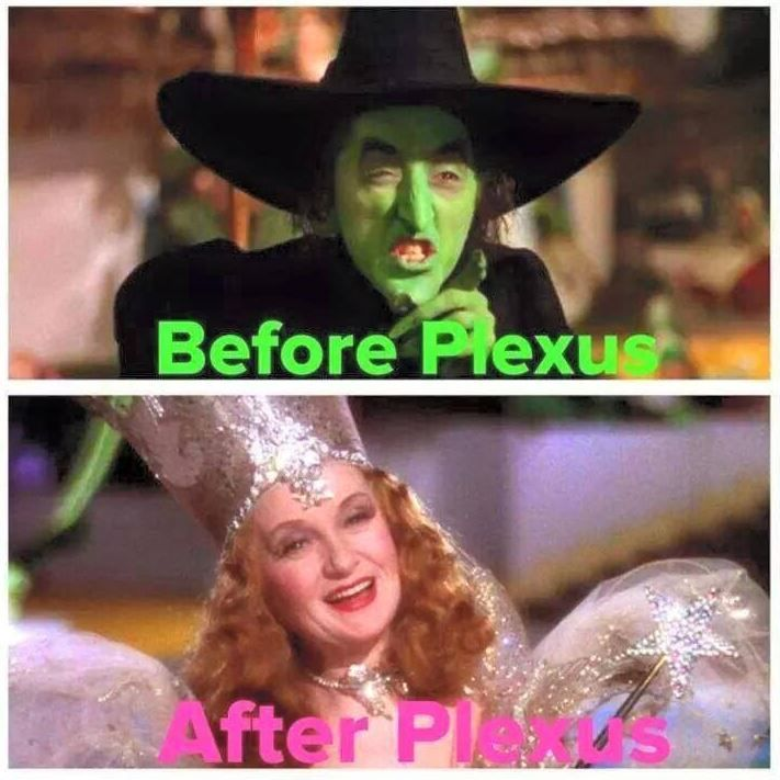 Lol!! You know what I mean! Tee hee! You can click through to watch video Before and After Plexus Testimonials on my website. :)