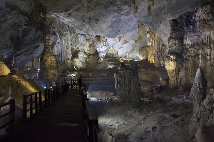 Wandering the caves in Dong Hoi National Park.  Stunning.  #vietnam #cave #adventure