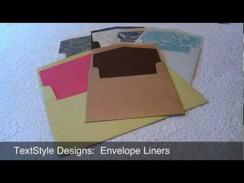 The 25 best Diy wedding envelope liners ideas on Pinterest
