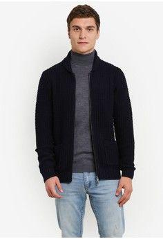 Pria > Pakaian > Outerwear > Sweater & Cardigan > Textured Cotton Cardigan > MANGO Man