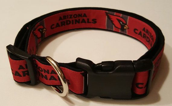 dog collar arizona cardinals cardinals arizona by Purfectpooch