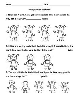 ... Problems First Grade, Division Problems, Drawing, Beginner