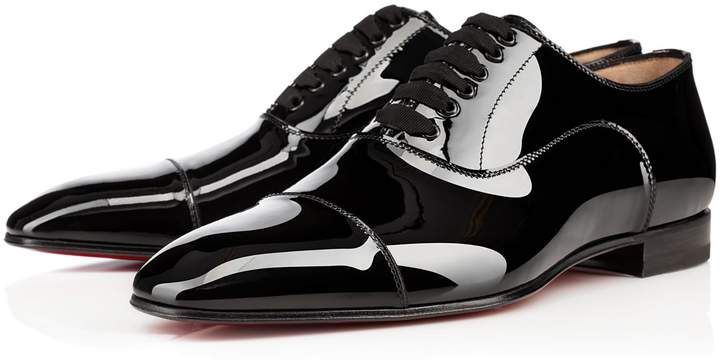release date: 69669 adcd2 Greggo Black Patent Leather - Men Shoes - Christian ...