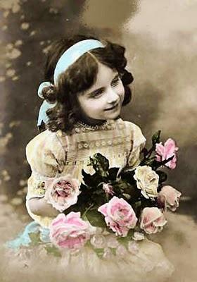 : Victorian Calender, Printable Vintage Labels Etc, Vintage Pictures, Vintage Photography, Lilacs Lavender, Sweet Girls, Calender Girls, Vintage Image, Child Vintage
