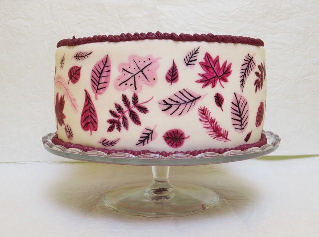 Julias Torten und Törtchen: Herbstliche Torte