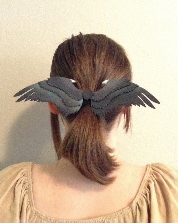 Hey, I found this really awesome Etsy listing at https://www.etsy.com/listing/200996501/maleficent-wings-hair-bow-clip
