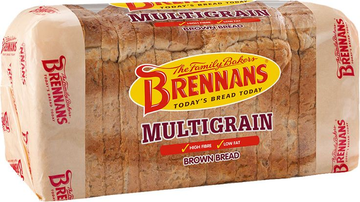 Brennans Multigrain Bread - combines wholemeal flour with linseed, kibbled rye, rye flour, oat flakes, malted wheat flakes, malted barley flour, rolled wheat, sunflower seeds, millet and poppy seeds for a healthy and exciting blend of flavors.  Now available in USA $6.59.