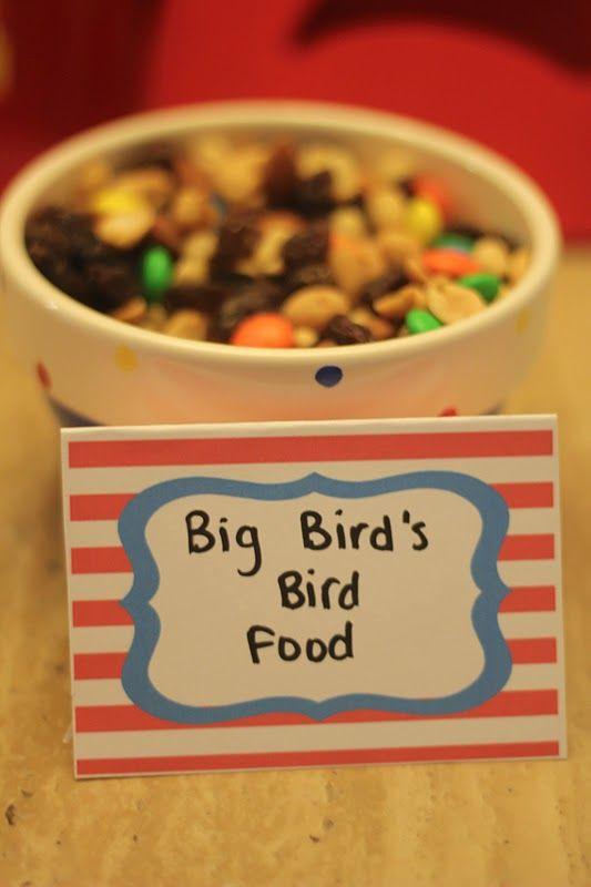 Sesame Street Party - food ideas