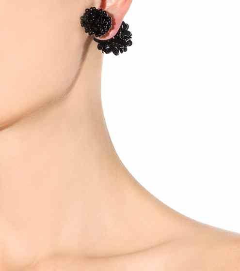 Boucles d'oreilles magnétiques en perles | Simone Rocha