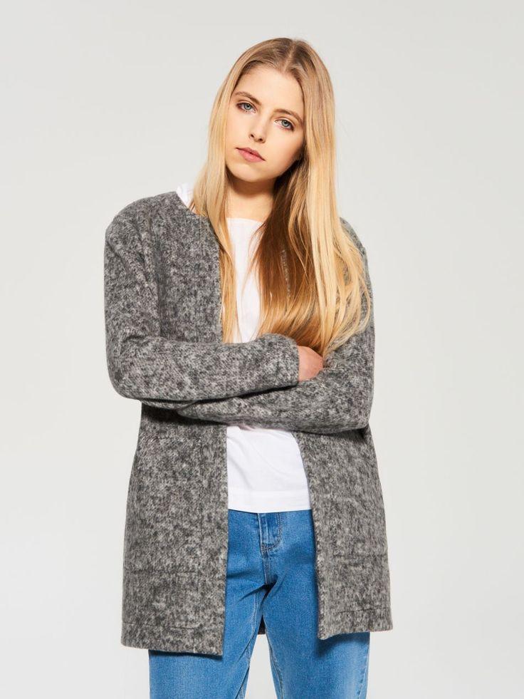 Bawełniany płaszcz na wiosnę