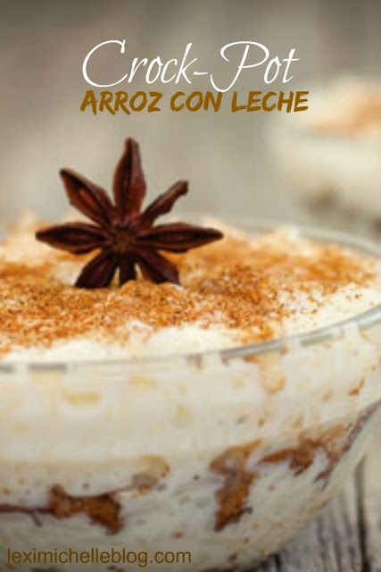 Easy Crockpot arroz con leche