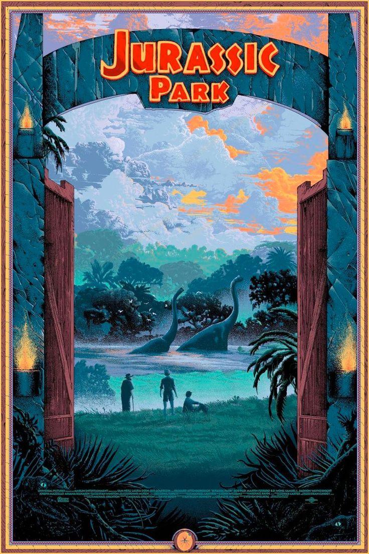Jurassic Park film poster