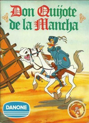 Album cromos Don Quijote de la Mancha - Danone