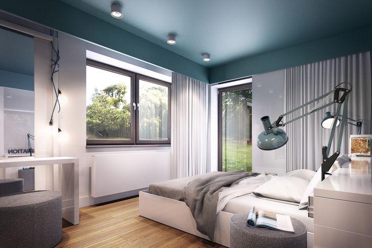 Minimalistyczna sypialnia http://domoart.pl/minimalistyczna-sypialnia/
