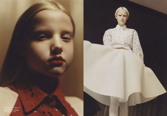 Going over to Susan's house Harleth Kuusik and Julie Hoomans Photographed by Harley Weir Styling by Lotta Volkova