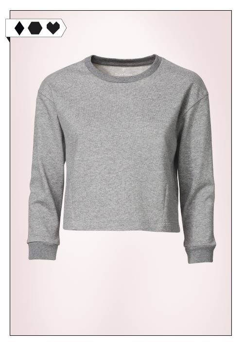 Cropped Sweatshirt (Thokk Thokk): 100% Organic Cotton. GOTS zertifziert. Fair hergestellt in Bangladesch. Thokk Thokk ist Mitglied der Fair Wear Foundation. VEGAN/ECO/SOCIAL/*29,90€*