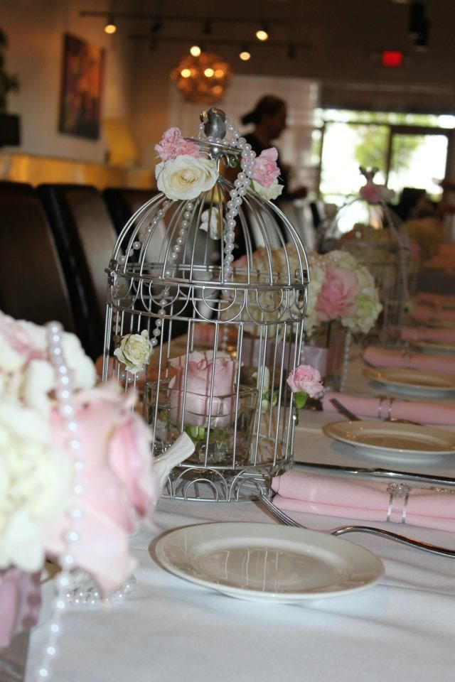 Pearls pink u0026 white flowers pink napkins