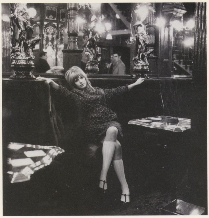 Marianne Faithfull, 1964, Photograph by Gered Mankowitz.