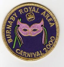 GGC BURNABY ROYAL AREA Patch Badge Discontinued Guides Girl Canada Scouts 2000