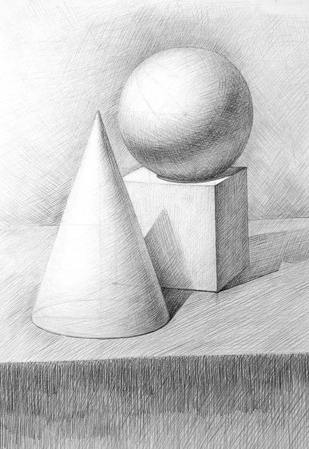 очень любят картинка геометрических фигур карандашом своей странице соцсети