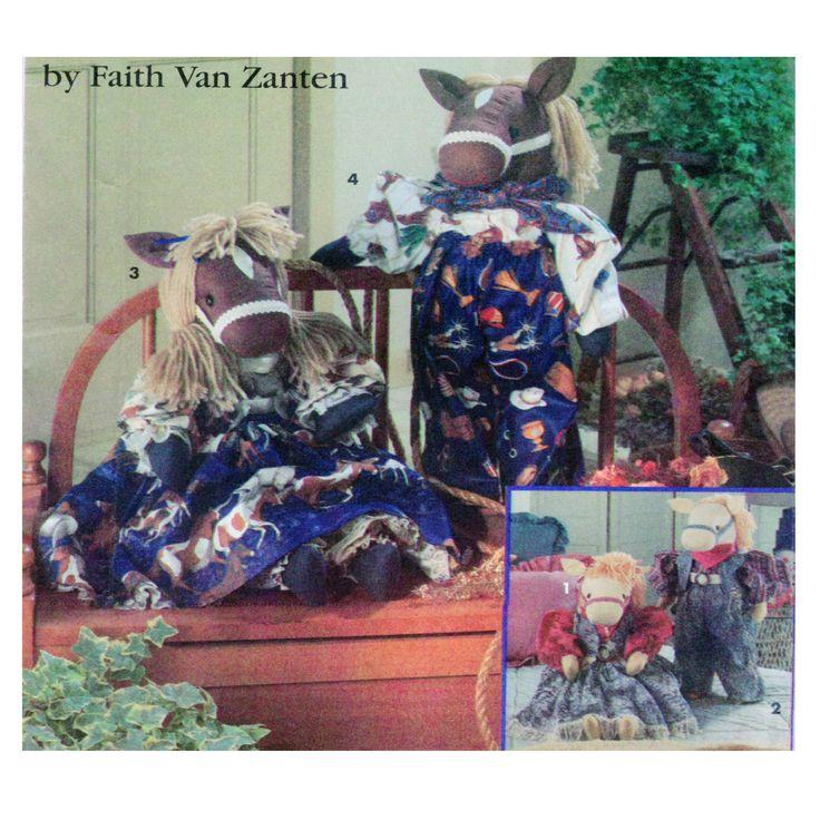 Simplicity 8266, Faith Van Zanten, Toy Horse Sewing