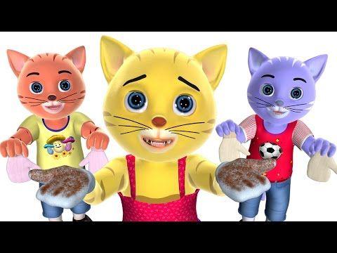 Three Little Kittens Nursery Rhyme   Baby Songs   3D English Nursery Rhymes for Children - YouTube