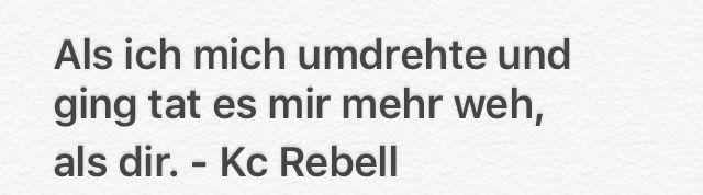 Liedtext Kc Rebell- weist du noch