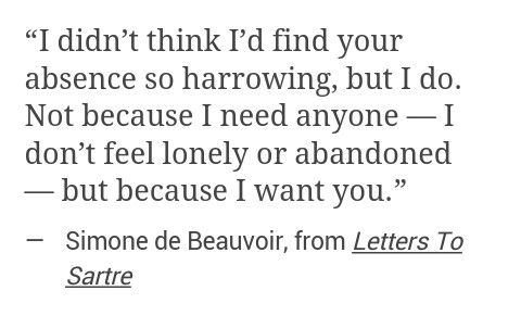 because i want you.