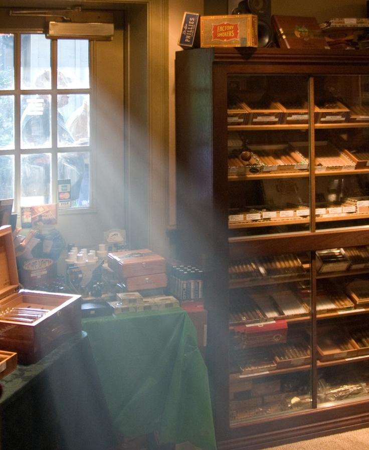 sometimes no place better than an old school cigar shop