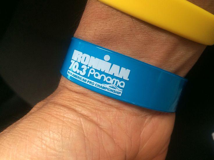 #ironmanpanama703 #wristband #ironman