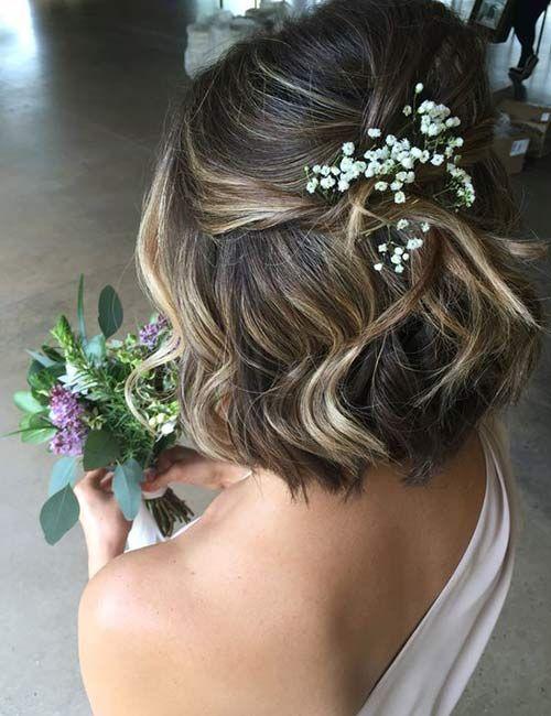 20 Atemberaubende DIY Prom Frisuren für kurzes Haar
