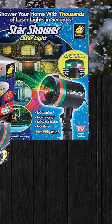 As Seen On TV Star Shower Laser Magic Light