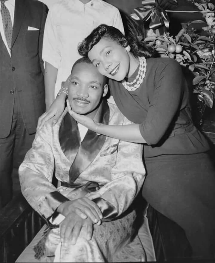 Dr. Martin Luther King Jr. & Coretta Scott King