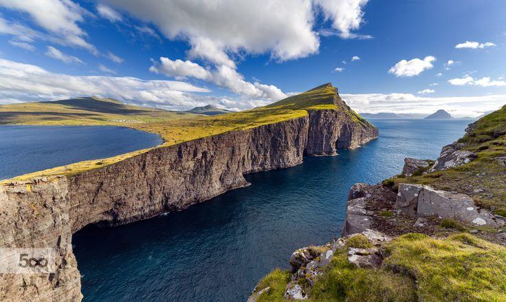 Leitisvatn Cliffs by Eirik Sørstrømmen on 500px