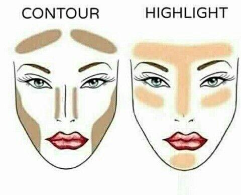#contour #highlighting #makeup #luxus #do #it #better #glow #bronzer #pretty