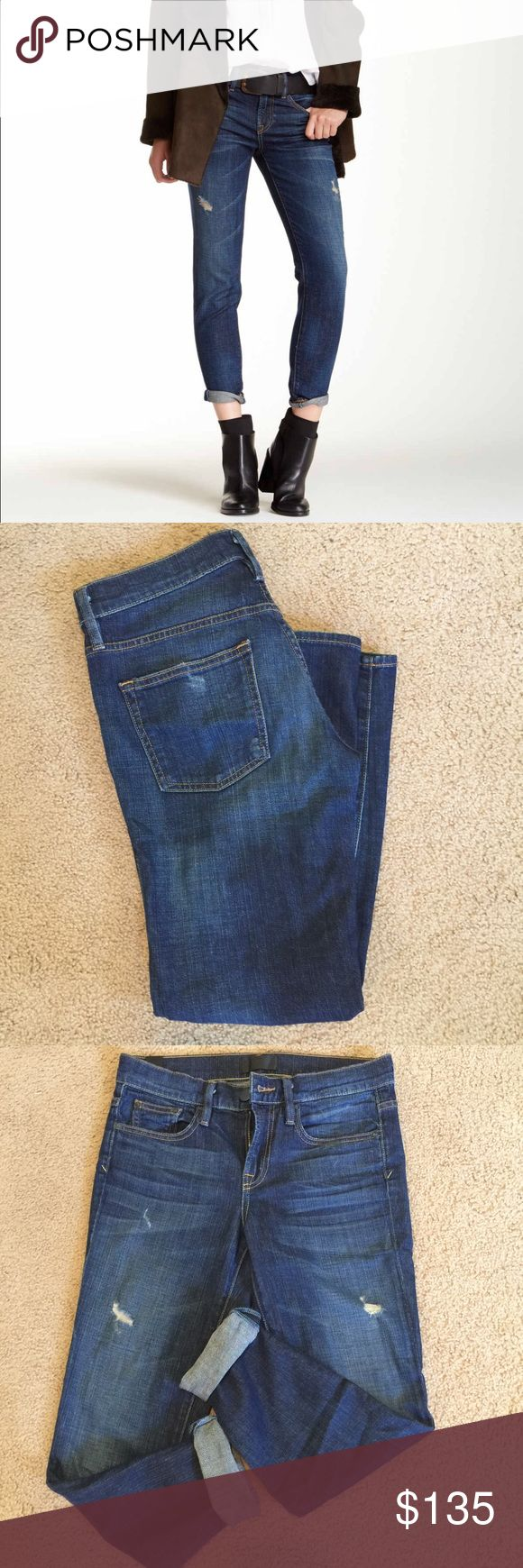 Mason Relaxed Rolled Jean by VINCE. NO FLAWS, no signs of wear! Very cute boyfriend style jean with distressing. Great for but I have TOO many boyfriend jeans and am whittling down. Time for a new home for these :) Vince Jeans Boyfriend