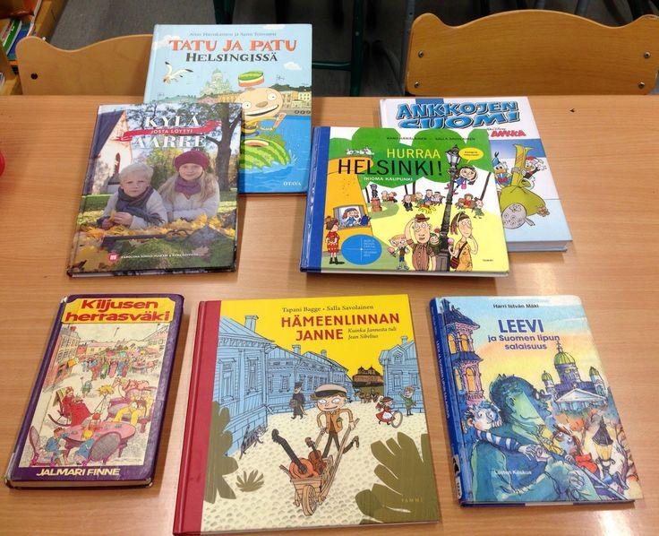 Suomi -aiheisia kirjoja alakouluun ja jatkotyöskentelyvinkkejä