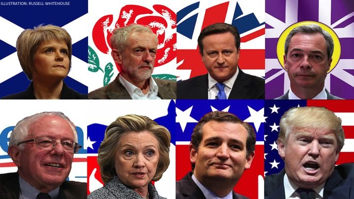 In this election year, it's clear that a seismic political shift is rumbling through America.  Widespread discontent for the status quo is surfacing from both the left and right...  #politics #americanexceptionalism #america #trump #democrat #republican #economics #bernie #excerpt #writing #essay #brexit #corbyn #farage #theresamay #snp #liberal #conservative #globalization #journalism