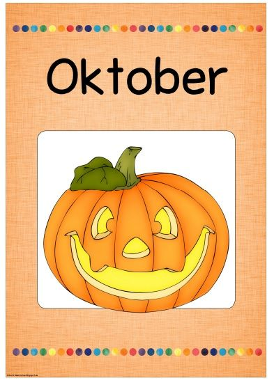 Neues Monatsplakat: October/Oktober  Wie üblich stelle ich kurz vor Beginn des neuen Monats das passende Plakat dazu ein ;-)  Das Monatspla...
