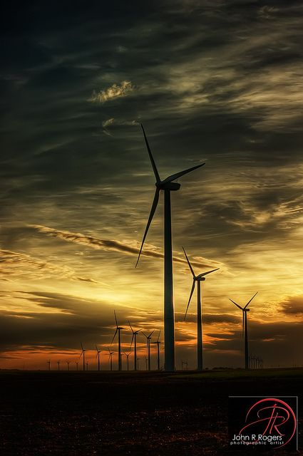 Dodge City Wind Farm; Earth Day 2011 | Flickr - Photo Sharing!
