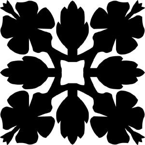 Hawaiian Quilt Tile 70 : HaoleKid