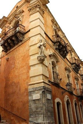 Ragusa-Ibla, Palazzo Cosentini