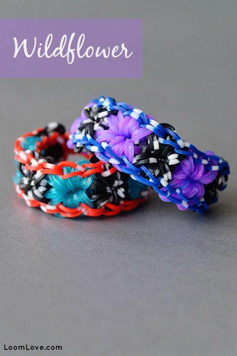 How to Make the Rainbow Loom Wildflower Bracelet