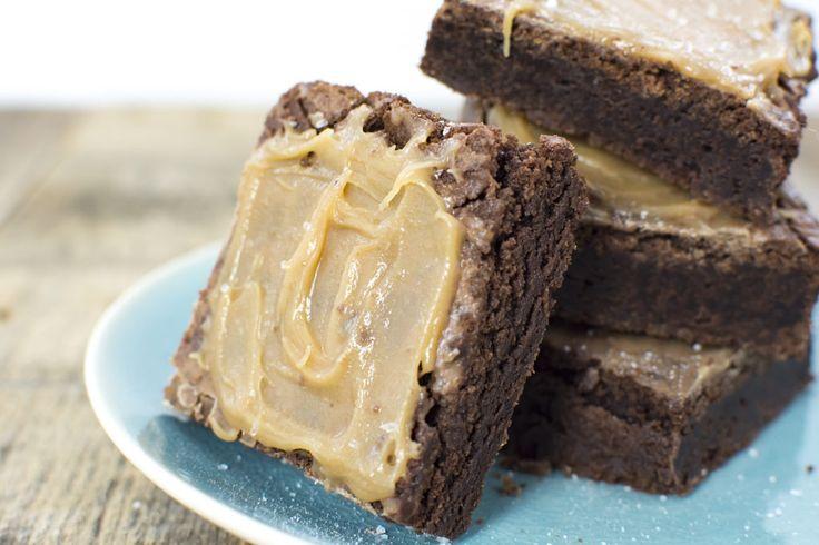 Salted caramel brownies!