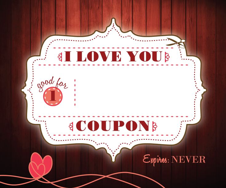 Love Coupon Free Printables - this is cool cuz it's not ...