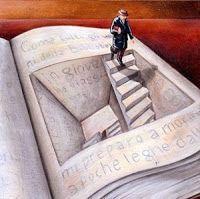 trap in boek