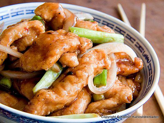 Kleiner Kuriositätenladen: Mongolisches Hühnchen