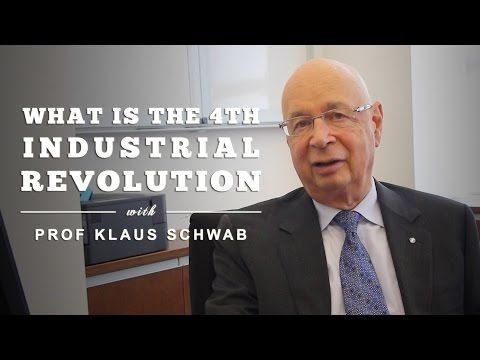 What is the Fourth Industrial Revolution? by Prof Klaus Schwab - YouTube