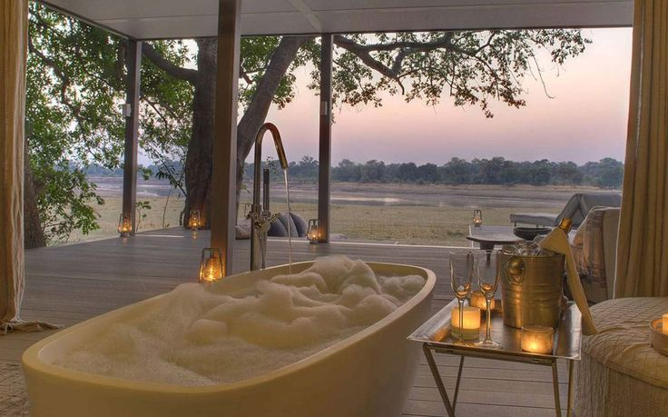 Bath for villa & spa