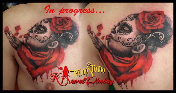 #tattoo lamuerte# #tatuaż elbląg# #elbląg# #kawał cholery#